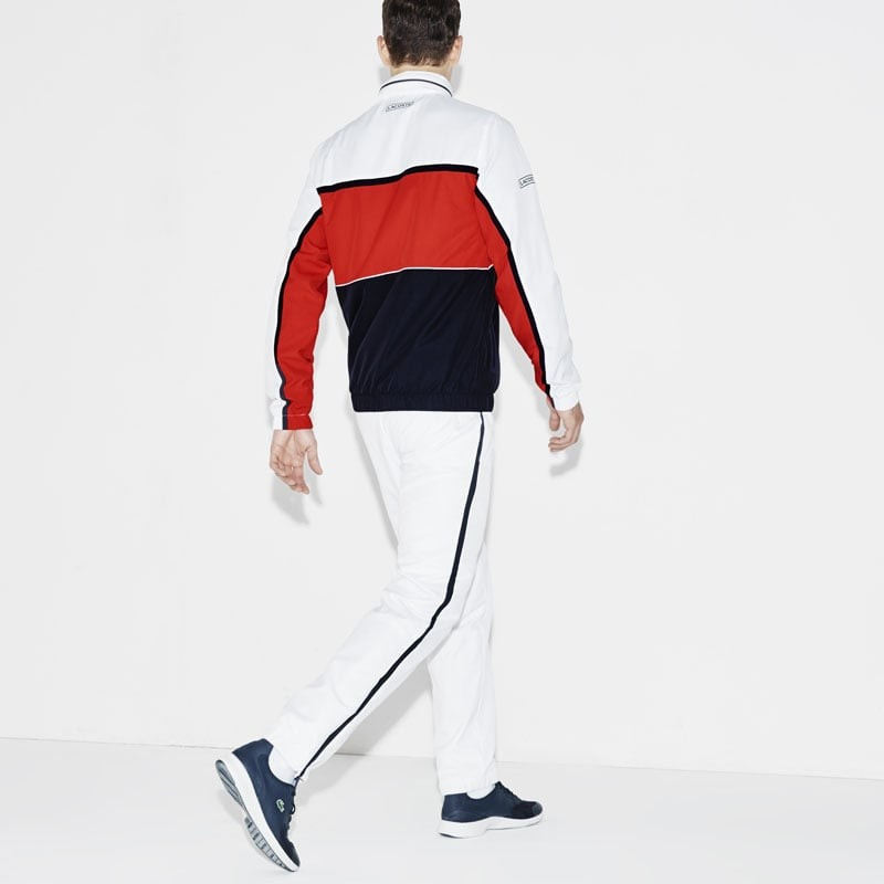 420e7c1714 jogging lacoste blanc,lacoste sport ensemble de homme multicolore blanc