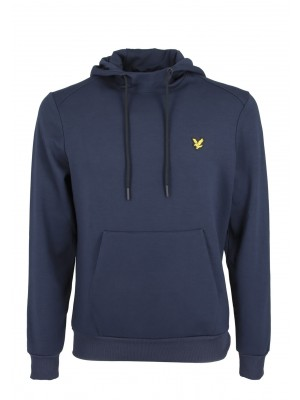 Lyle & Scott ML1371SP Z05  oth fly fleece hoodie navy
