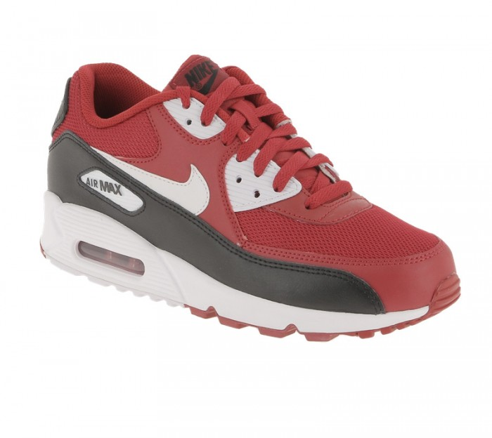 Nike Air Max 90 Essential Gym RedWhite Black White 610