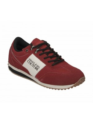 Versace Jeans Couture Linea Fondo Spyder Dis.1 Plain Nylon Suede Coated Red E0YUBSE1 71241 500