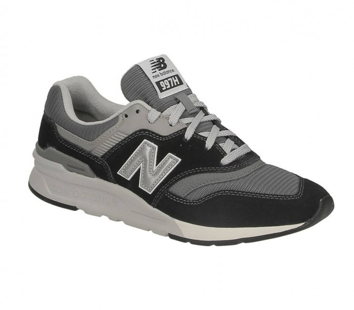 New Balance CM997 HBK 774411 69 8 black grey Suede Textile
