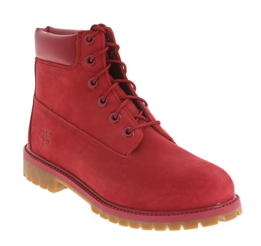 bottes timberland junior 39 s 6in premium wp boot red a13hv vente en ligne bruxelles belgique. Black Bedroom Furniture Sets. Home Design Ideas