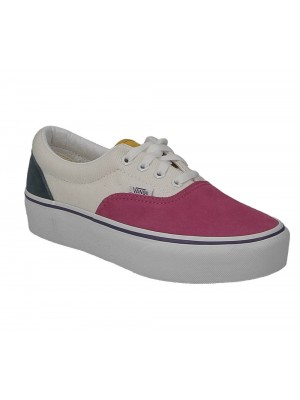 Basket Vans Era platform mini cord multi true white VN0A3WLUWVY1