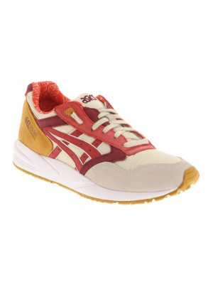 Asics Gel-Saga off white red h5q5n 0223