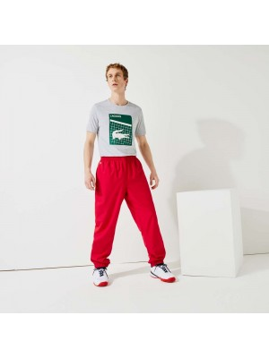 Pantalon de Survêtement Lacoste XH120T 029 Ruby