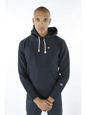 Champion Europe Hooded Sweatshirt small logo 210966 BS501 NNY navy Limited Edition (apparel)