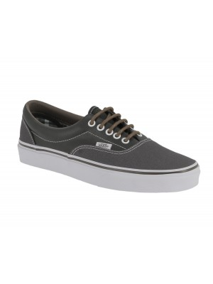 Vans Era leather plaid Asphalt beluga VN00018FIFX