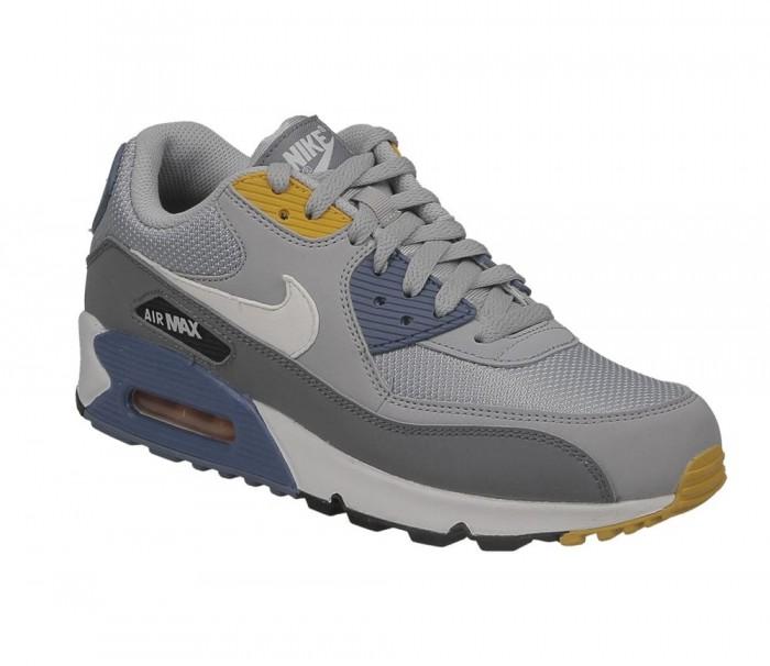 AJ1285 016 Nike Air Max 90 Essential Wolf GreyWhite Indigo Storm