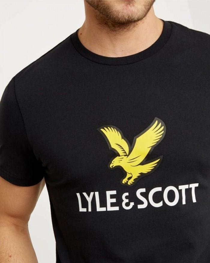 T-shirt Lyle & Scott 1901 TS1020V 572 True Black