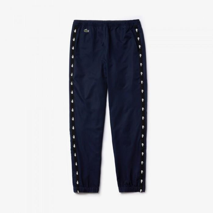 Pantalon de Survêtement Lacoste XH4848 S90 Navy Blue Black Navy Blue