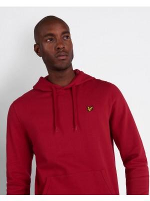 Lyle & Scott ML416VTR W115 pullover hoodie chilli pepper red