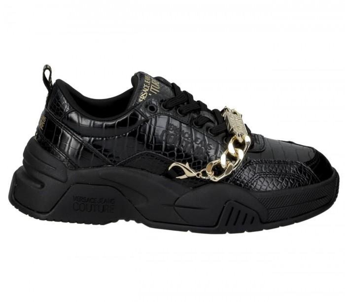 Basket Versace Jeans Couture StarGaze Black Fire1 Dis.13 E0Ywasf4 71965 899 Cocco Printed