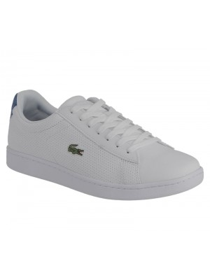 Lacoste Carnaby evo 217 1 spm wht blu leather synthetic 7-33spm1021080