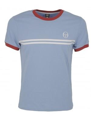 T shirt Tacchini 36640 Supermac 3 sky blue white 341