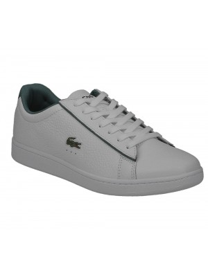 Basket Lacoste Homme Carnaby Evo 120 2 Sma Wht Grn