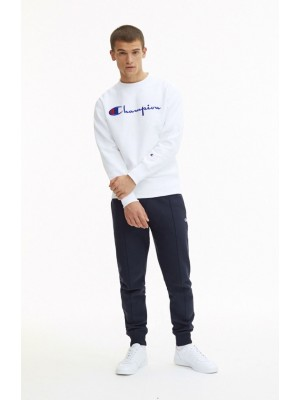 Sweatshirt Champion Europe crewneck big logo 212576 S19 WW001 WHT white