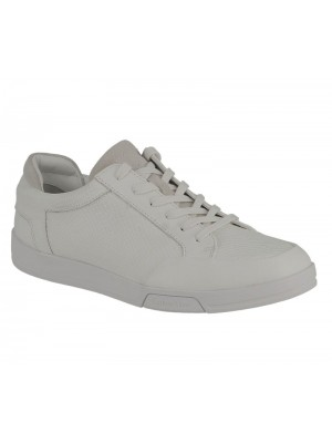 Calvin Klein Balin embossed lea calf smooth white f1719
