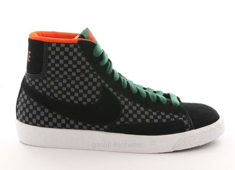 nike blazer mid woven noir. Black Bedroom Furniture Sets. Home Design Ideas
