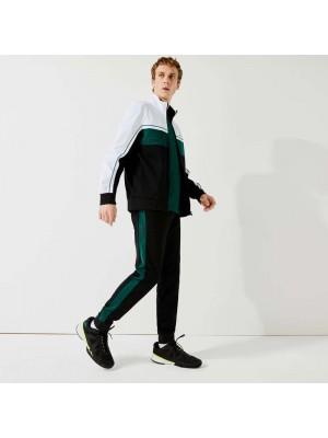 Pantalon de Survêtement Lacoste XH9558 PGL Black Bottle Green Black