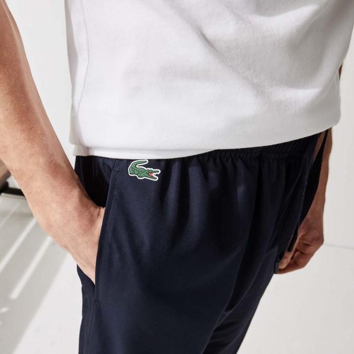Pantalon de Survêtement Lacoste XH1641 R26 Navy Blue Navy Blue White