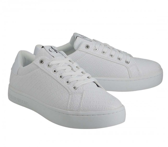 Calvin Klein Jeans Cupsole Sneaker Lace YAF Bright White YM0YM00031