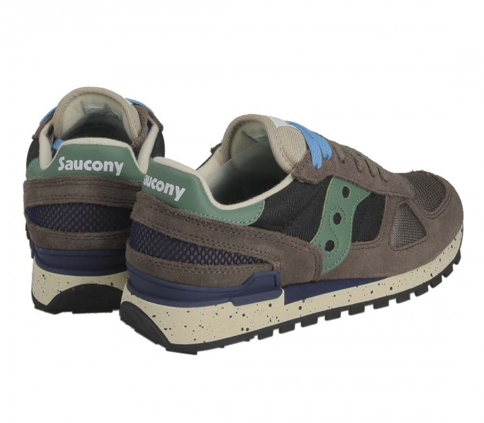 Sneakers Saucony Shadow Original Brown Black Green Marron S2108 792