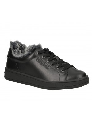 Calvin Klein Soleil soft nappa fur black N12076 BLK
