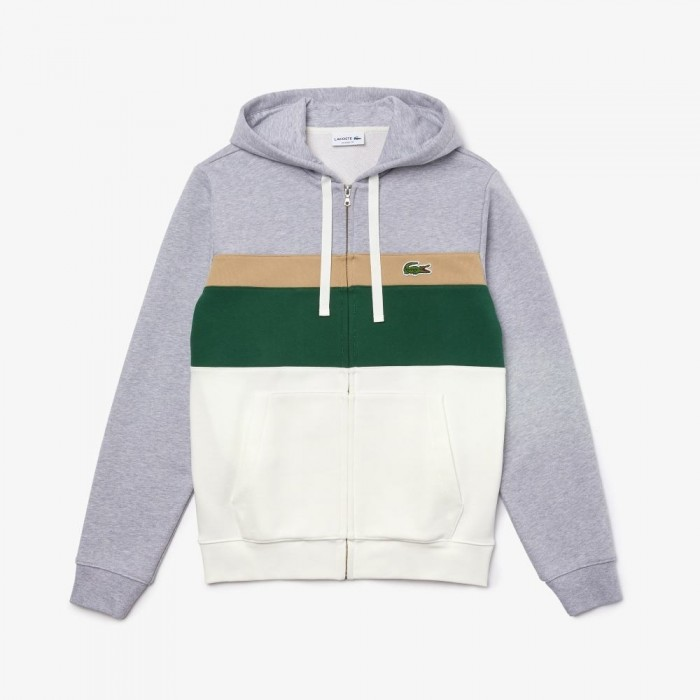 Sweatshirt Lacoste SH2176 99V Farine Vert Viennois Argent