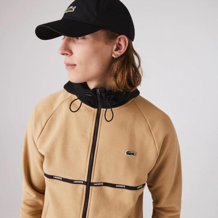 Sweatshirt Lacoste SH1518 GYG Viennois Noir Blanc