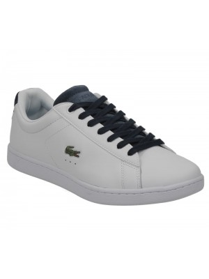 Lacoste Carnaby Evo 317 1 Spw White Navy 734spw0006042