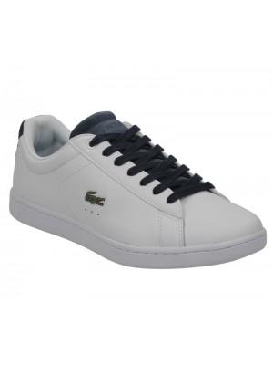 Lacoste Carnaby Evo 317 1 Spw White Navy 734spw0006042