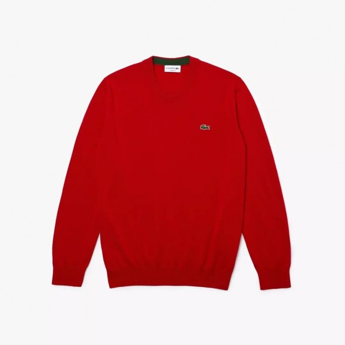 Pull Lacoste AH1985 240 Rouge