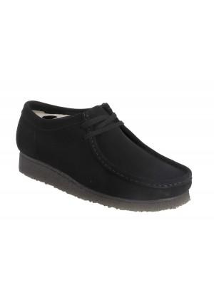 Chaussures Clarks Originals Wallabee black  suede 26133279