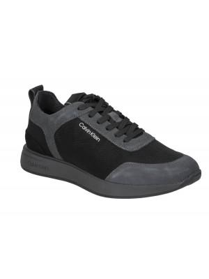 Calvin Klein Delbert 2 Low top Lace Up Grey Black B4F4509