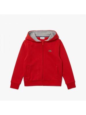 Sweatshirt Junior Lacoste SJ2903 FLF Cinnabar Heather Wall