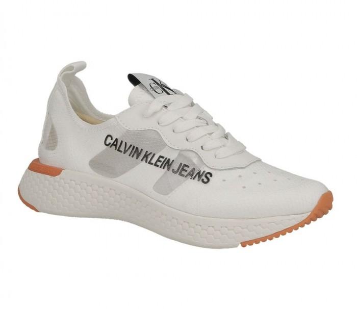 Calvin Klein Jeans Alexia semi transparent nylon bright white R7808 BIW