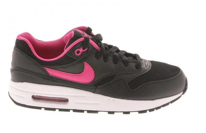 photos officielles 1316b 69534 Nike Air Max 1 807605 006 GS Black pink white vente en ligne ...