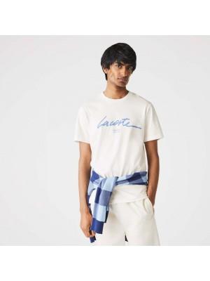 T-shirt Lacoste TH0503 70V Flour