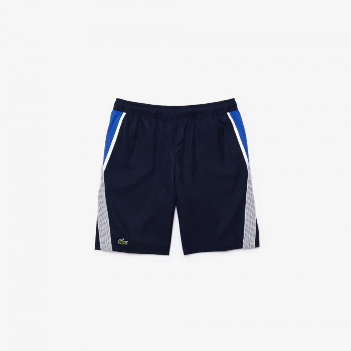 Short Lacoste GH4764 RHW Navy blue White Obscurity