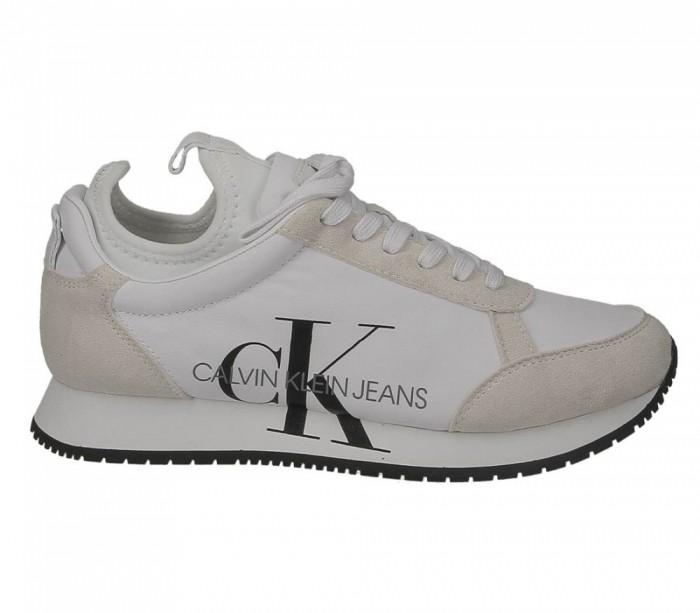 Calvin Klein Jeans Josslyn White suede nylon B4R0825 100