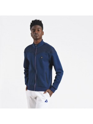 Sweatshirt Le Coq Sportif STA SP CotonTech FZ Sweat M dress blues1710440